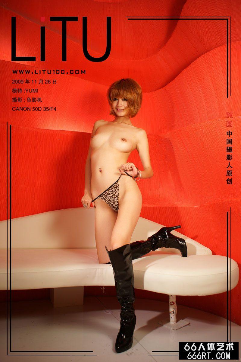 美模yumi09年11月26日红房子棚拍,超大胆女星人体艺术图片