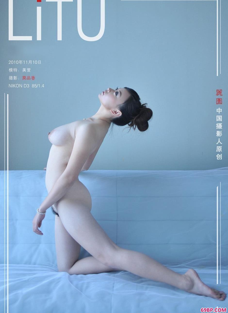 嫩模美萱室拍丰润人体,人体艺术打包下载