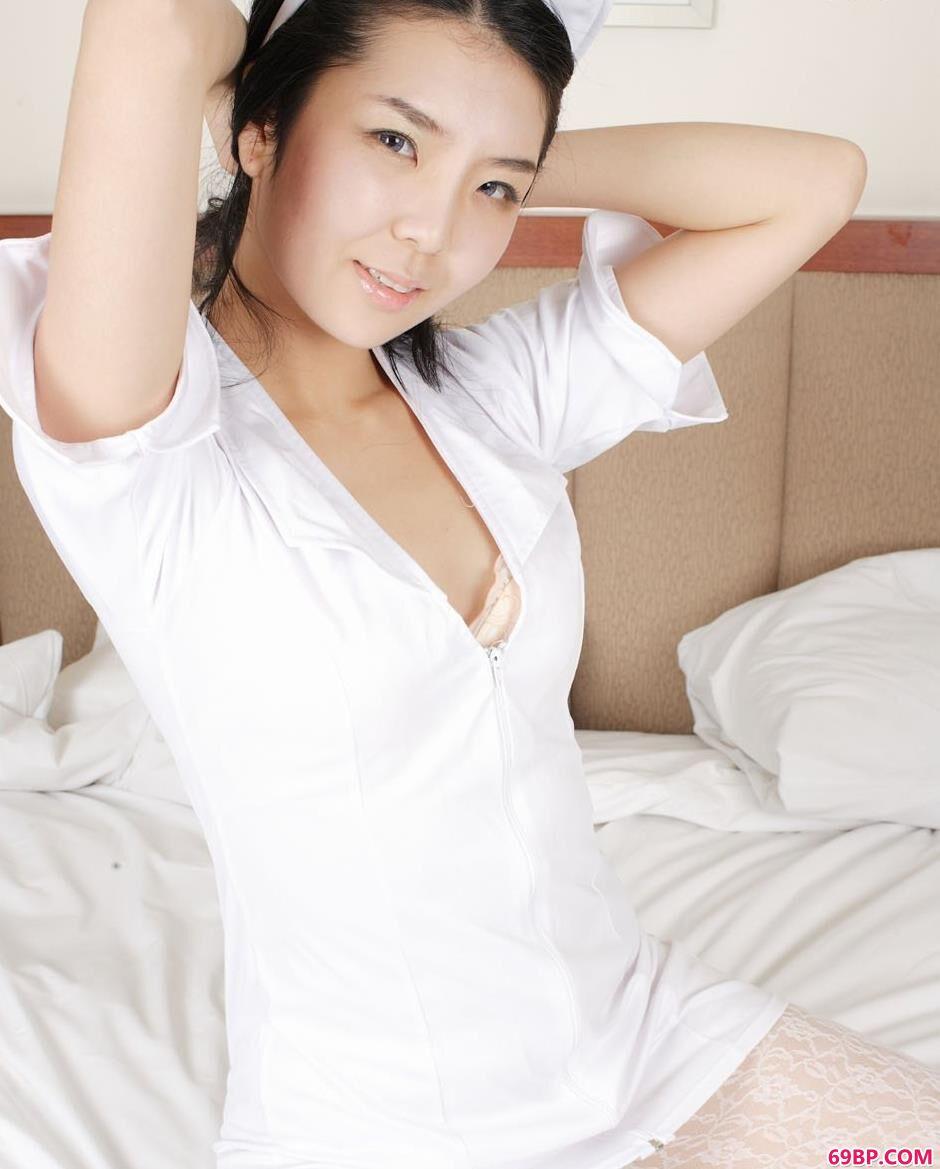 韩国人体名模护士装2